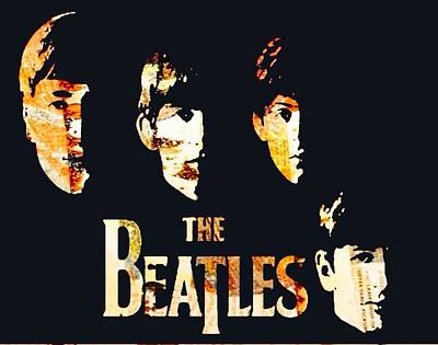 Beatles Print by Trisha Buchanan
