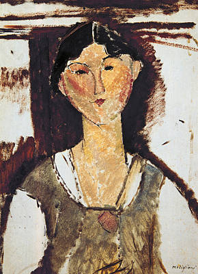 Beatrice Hastings Print by Amedeo Modigliani