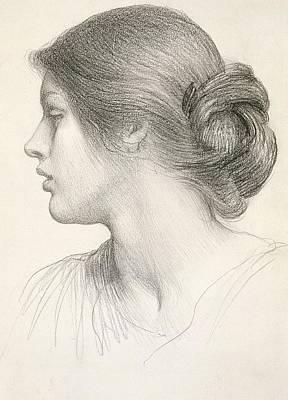 Beatrice Stuart Print by Sir Frank Dicksee