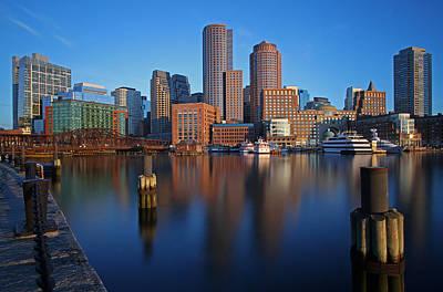 Beautiful Boston  Print by Juergen Roth
