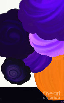 Artrage Painting - Beautiful Bunch by Anita Lewis