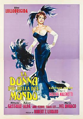 1950s Movies Digital Art - Beautiful But Dangerous - Italian  by Georgia Fowler