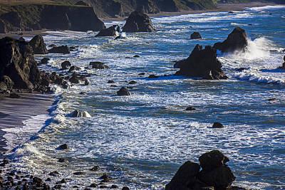 Beautiful California Coast Print by Garry Gay