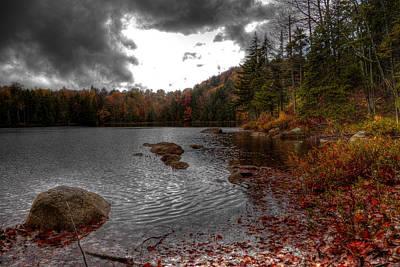 Fall Photograph - Beautiful Cary Lake by David Patterson