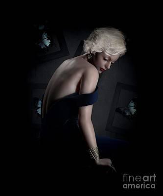 Beautiful Woman Mixed Media - Beautiful Creatures by Shanina Conway