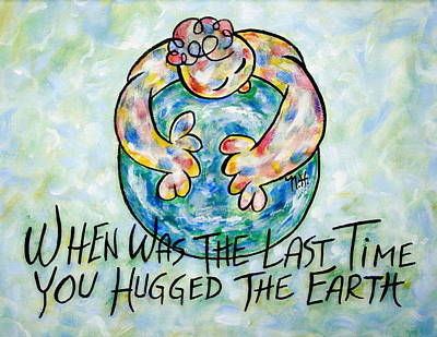 Save The Earth Painting - Beautiful Earth by Natalie Holland
