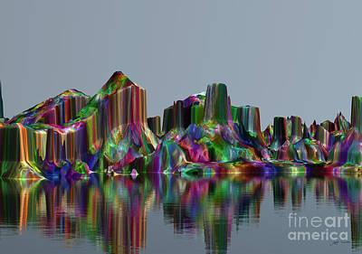 Dreamscape Mixed Media - Beautiful Gemstones In Your Dreams.  by Heinz G Mielke