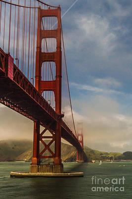 Beautiful Golden Gate Print by Mitch Shindelbower