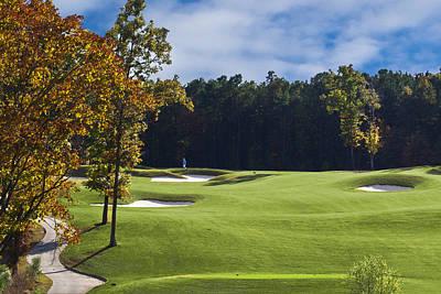 Golf Photograph - Beautiful Golf Course by Brett Price