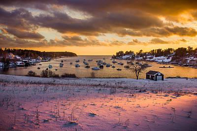 Bailey Island Photograph - Beautiful Light by Benjamin Williamson