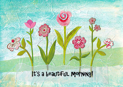 Beautiful Morning Print by Carla Parris