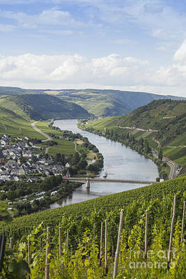 Beautiful Mosel River Print by Patricia Hofmeester