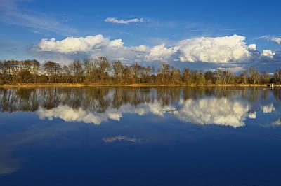 Beautiful Reflection Print by Ivan Slosar