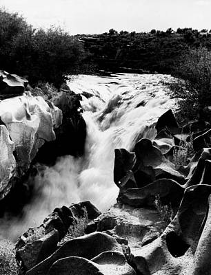 Beautiful Rushing Water Print by Retro Images Archive