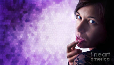 Pretty Photograph - Beautiful Sexy Woman by Michal Bednarek