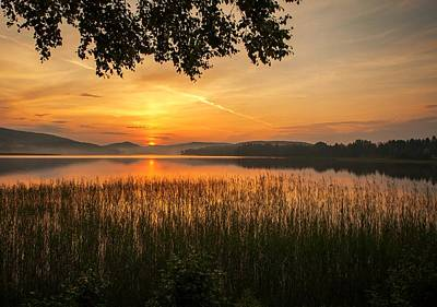 Sunset In Norway Photograph - Beautiful View  by Rose-Maries Pictures