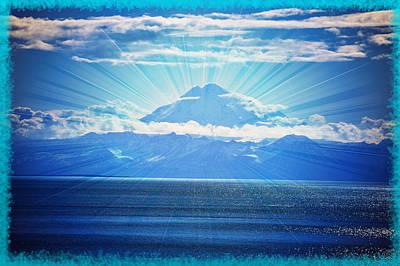 Beautiful Volcano Print by Debra  Miller