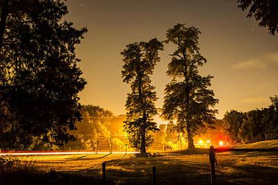 Beautiful Warm Night  Original by Eric Ruditskiy