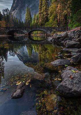Waterfall Photograph - Beautiful Yosemite National Park by Larry Marshall
