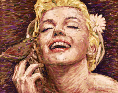1950s Movies Painting - Beautifully Happy by Atiketta Sangasaeng
