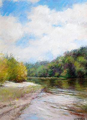 Pastel Drawing - Beauty Of Nature  by Nancy Stutes
