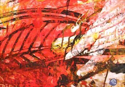 Painting - beauty of Tahiti II. by Paul Pulszartti