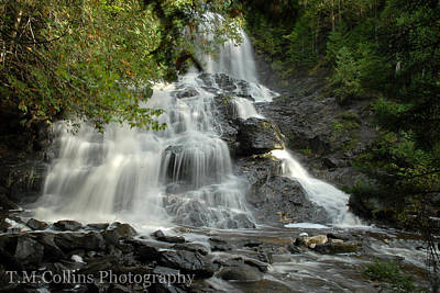 Vermont Photograph - Beaver Brook Falls by Tammy Collins