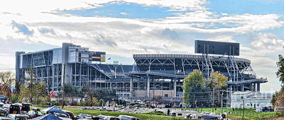 Beaver Stadium Game Day Print by Tom Gari Gallery-Three-Photography