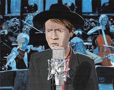 Saturday Night Live Painting - Beck by David Moriarty