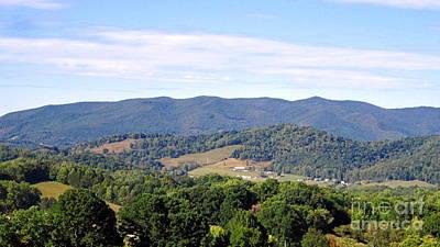 Mountain Photograph - Beck Mountain View by Cynthia  Clark