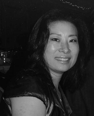 Becky Kim Artist Photograph - Becky Sungja Kim by Becky Kim
