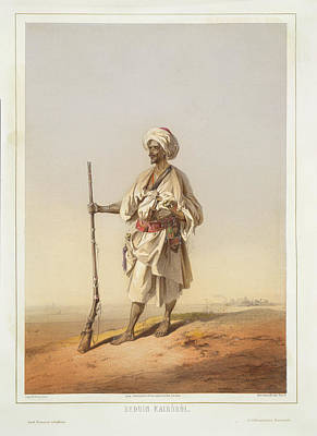 Bedouin From Cairo Print by British Library