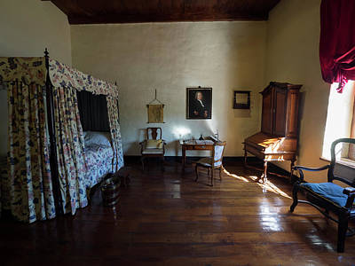 Bedroom Of Blettermanhuis, Stellenbosch Print by Panoramic Images