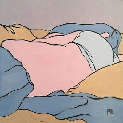 Bedscape Two-fifteen Am Original by Stan Magnan