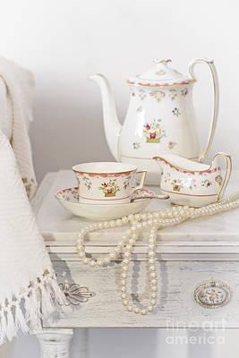 Bedside Table Photograph - Bedside Table For Tea by Amanda Elwell