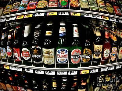 Shiner Photograph - Beer Of Choice II - No.9188 by Joe Finney