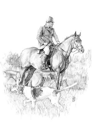 Before The Hunt Original by Debra Jones