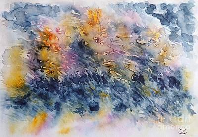 Before The Rain  Print by Zaira Dzhaubaeva