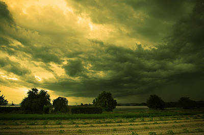 Arbres Verts Photograph - Before The Storm by Philippe Meisburger