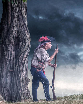 Huron Indian Digital Art - Before The Storm by Randy Steele