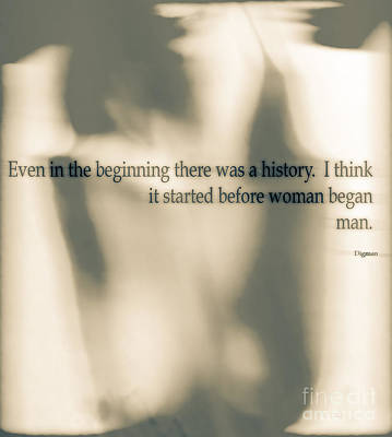 Exotic Photograph - Before Woman Began Man by Steven  Digman
