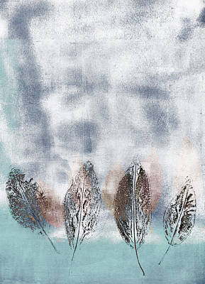 Beginning Of Winter Print by Carol Leigh