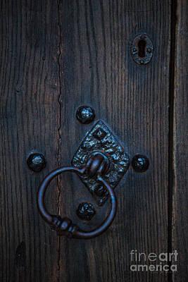 Behind Locked Doors Print by Iris Richardson