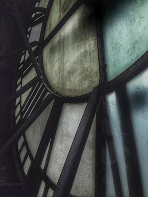 Old Mill Scenes Photograph - Behind The Clock - Emerson Bromo-seltzer Tower by Marianna Mills