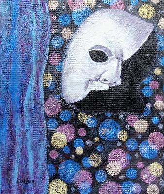 Mardi Gras Painting - Behind The Mask by Susan DeLain