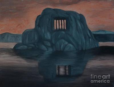Imprisonment Painting - Behind The Paint by Juliet Sarah Marx