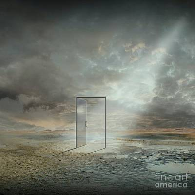 Behind The Reality Print by Franziskus Pfleghart