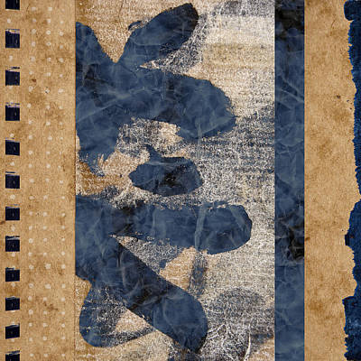 Sepia Ink Mixed Media - Behind The Screen by Carol Leigh