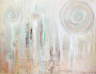 Religious Art Mixed Media - Behold The Living Waters by Talvi Winter