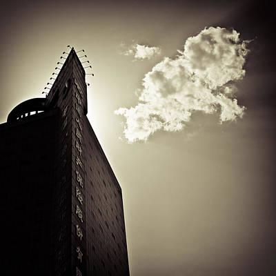 Beijing Cloud Print by Dave Bowman
